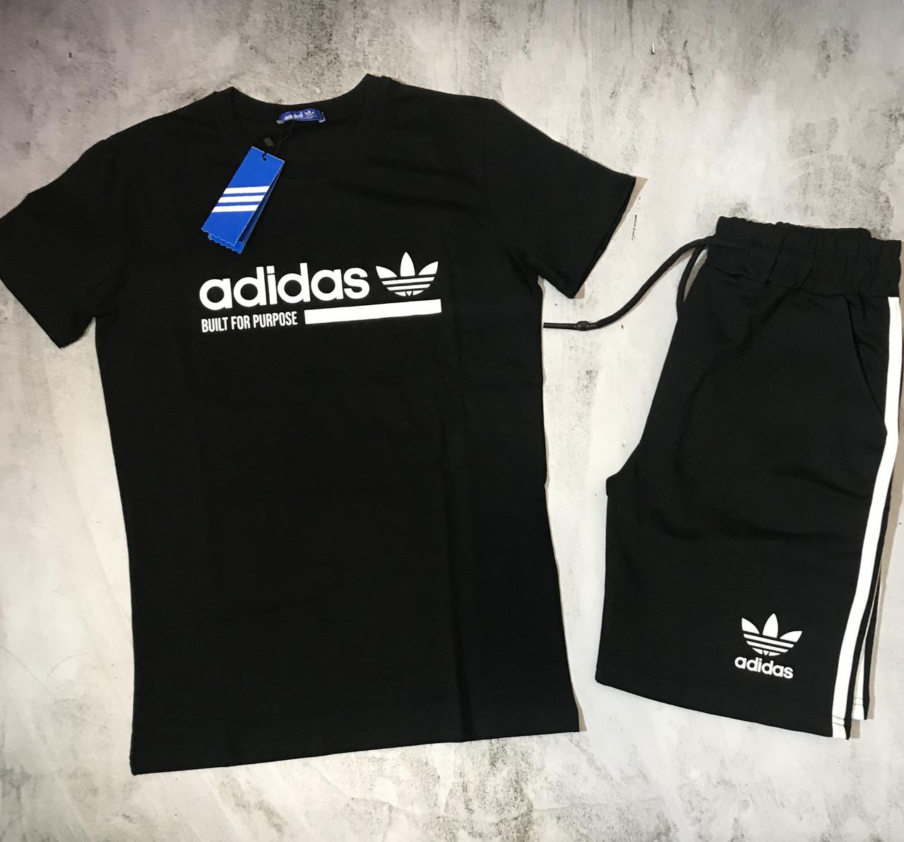Мужской спортивный костюм (футболка и шорты) Adidas Unrivaled speed