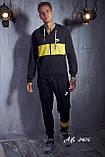 Мужской спортивный костюм Турецкая двунитка Размер 48 50 52 54 В наличии 5 цветов, фото 3
