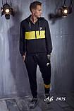 Мужской спортивный костюм Турецкая двунитка Размер 48 50 52 54 В наличии 5 цветов, фото 5