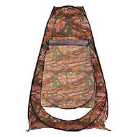 Палатка-душ 100*100*185см, камуфляж.
