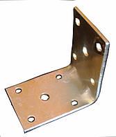 Уголок крепежный № 130 (усиленный) (70х70х50х3 мм.) ТМ БеМаС