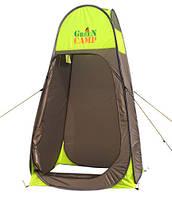 Палатка-душ GreenCamp 20, 110х110х190 см