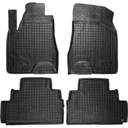 Коврики в салон для Lexus RX 350 2003-2009 черный, кт - 4шт 11210 Avto-Gumm