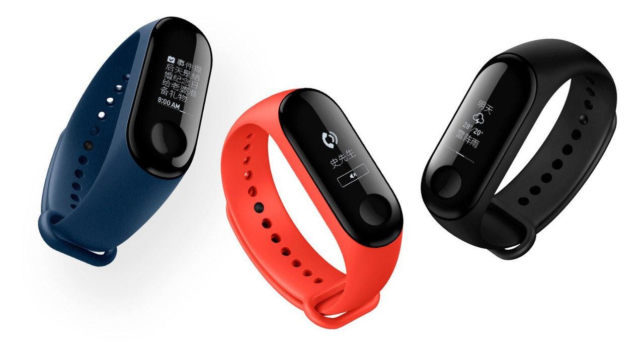 Фитнес браслет Xiaomi Mi Band 3 / Фитнес-трекер Mi Band 3 Original Global