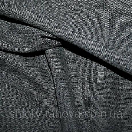 Ткань для обивки и штор хлопок софт, графит