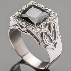 Перстень мужской из серебра 925 пробы арт. 375к