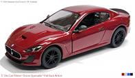 """Модель легковая 5"""" KT5395W 2016 Maserati GranTurismo метал.инерц.откр.дв.1:38"""