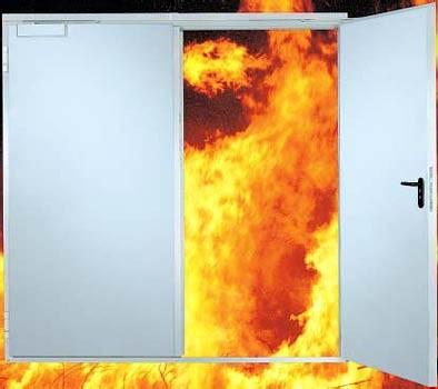Ворота промышленные противопожарные
