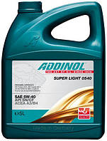 Cинтетическое моторное масло  Addinol Super Light 0540 5л.