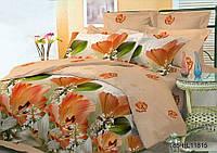 Комплект постельного белья 11815, микросатин (Евро)