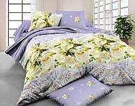 Комплект постельного белья 7890, микросатин (Полуторный)