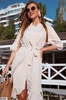 Платье женское летнее легкое софт 42-48 размеров, 5 цветов