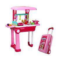 Детская кухня. Игровой набор для девочек в чемодане