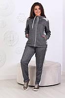 Женский спортивный костюм Трикотаж петля Размер 50 52 54 56 58 60 62 Разные цвета, фото 1