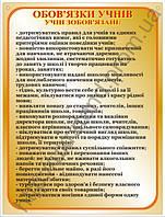 Стенд Обов'язки учнів (70906)