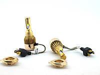 ЯРКИЕ ! LED H4 H/L 6000k 36W 4300Lm, светодиодные автомобильные лампы для фар основного света | AG360034