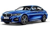 Модель автомобиля BMW 3 (G20) Portimao Blue 1:18 Scale, коллекционная оригинальная металлическая (80432450999)