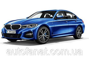 Оригинальная модель автомобиля BMW 3 (G20), Portimao Blue, 1:18 Scale (80432450999)