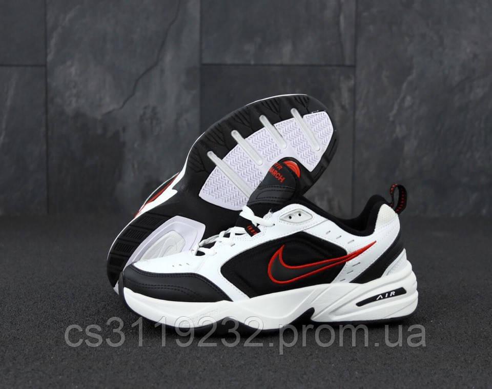 Мужские кроссовки Nike Air Monarch IV(черно-белые)