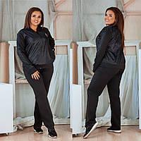 Женский спортивный костюм дайвинг черный 5 расцветок