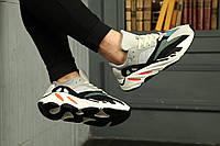 """Мужские/женские спортивные кроссовки, кеды, чоловічі кросівки Addas Yeezy Boost 700 """"Wave Runner"""", Реплика"""