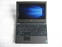 15,6' ноутбук Dell Precision M4800 i7-4810QM 8G 500G nVidia Quadro K1100M( 2G) АКБ 2ч#955