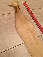 Славянские волосы в срезе для наращивания 70 см блонд #22