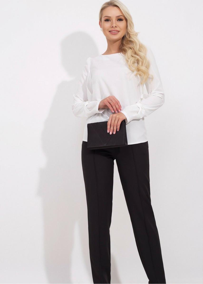 Офісна блуза великого розміру (52-56)