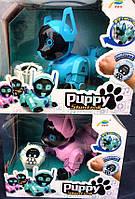 Интерактивная собака Робот щенок Puppy stunt roll на аккум.
