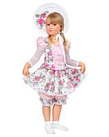 Карнавальный костюм для девочки Кукла с розами, размер 30 (283)