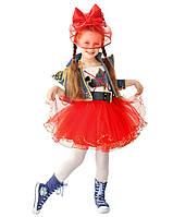 Карнавальный костюм для девочки Красная Шапочка, размер 30 (634)