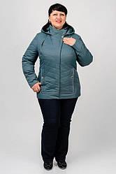 Элегантная осенняя куртка приталенного силуэта сэлементами стежки Василина Разные цвета