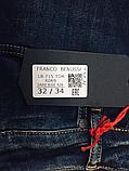 Джинсы Franco Benussi 18-715 TORINO темно-синие, фото 5