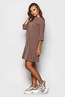 Платье К 00533 с 02 бежевый