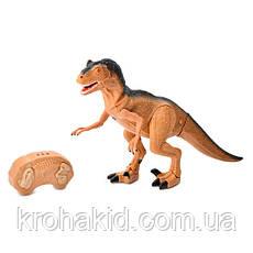Игрушка динозавр RS6122 тиранозавр на радиоуправлении со ЗВУКОМ и СВЕТОМ, фото 3