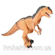 Игрушка динозавр RS6122 тиранозавр на радиоуправлении со ЗВУКОМ и СВЕТОМ, фото 2