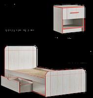 Кровать Рио (ламели), фото 1