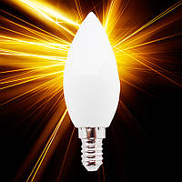 Светодиодная лампа Luxel 040 7W E14, фото 1