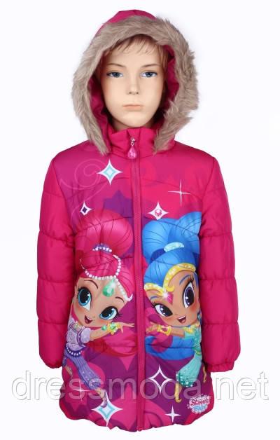 Куртка демисезонная для девочек  Shimmer Shine 92-116р.р