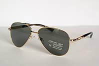 Солнцезащитные очки стеклянные, мужские Boguan UV 100%. Линза Cтекло. 9504 С4, фото 1