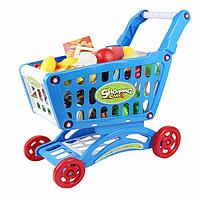 Игровой набор супермаркет.Тележка с продуктами