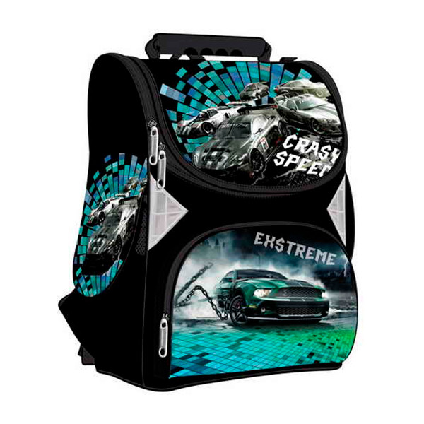 Фирменный школьный каркасный рюкзак