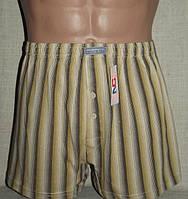Боксерки шорты мужские семейные (полоса) хлопок Natural Club
