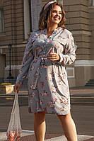 Платье рубашка женское 48-50; 52-54; 56-58, фото 1