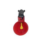 Поїлка чашкова для курей із з'єднувачем для труби 20 мм, фото 2