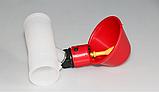 Поїлка чашкова для курей із з'єднувачем для труби 20 мм, фото 4