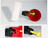 Поїлка чашкова для курей із з'єднувачем для труби 20 мм, фото 5