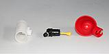 Поїлка чашкова для курей із з'єднувачем для труби 20 мм, фото 6