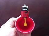 Поїлка чашкова для курей із з'єднувачем для труби 20 мм, фото 9