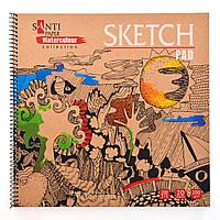 "Альбом для эскизов ""Paper Watercolour Collection"", 315*295мм, 20л"